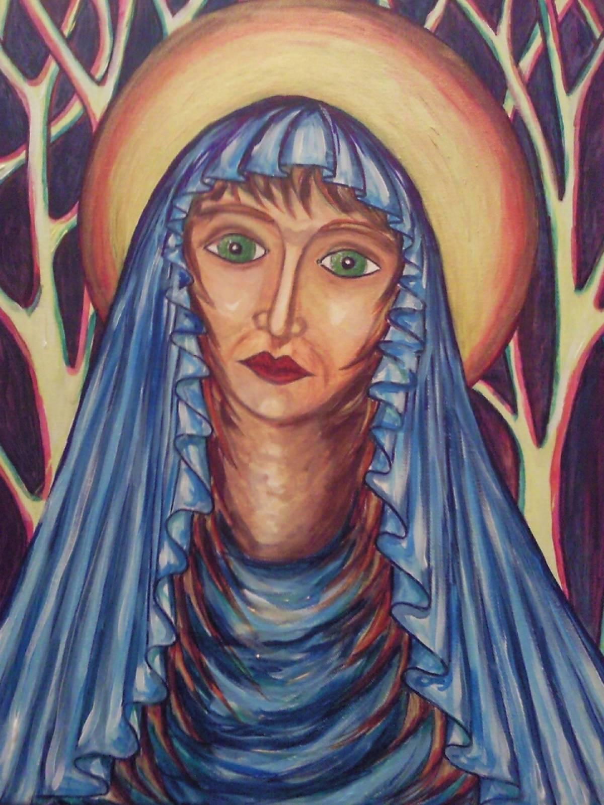 La Vierge rousse, mère du Christ